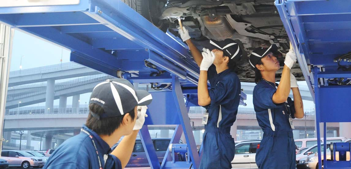 Car Inspection Japan has started